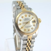 Rolex Lady Date Just Oyster Perpetual  Ø 26mm Stahl Gold 18K