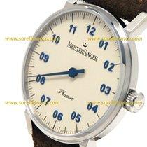 Meistersinger PHANERO 35MM Hand-wound blue details PH 303