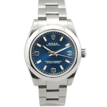 Rolex Oyster Perpetual Lady SS Blue Arabic Dial - 177200