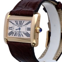 Cartier Tank Divan XL Yellow Gold 18 krt (40 x 28 mm)