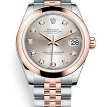 Rolex Datejust Everose Gold & Stainless Steel & Diamonds...