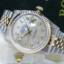 Rolex pre-owned Automatic 36mm White Sapphire Glass 10 ATM