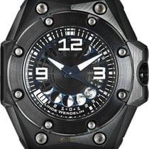 Linde Werdelin new Automatic Skeletonized Screw-Down Crown PVD/DLC coating 44mm Titanium Sapphire Glass
