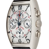 Franck Muller White gold 49mm Automatic 7850 cc mb pre-owned