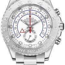 Rolex Yacht-Master II White gold 44mm White No numerals