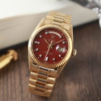 Rolex Day-Date 36 Yellow gold 36mm Bordeaux No numerals Singapore, Singapore