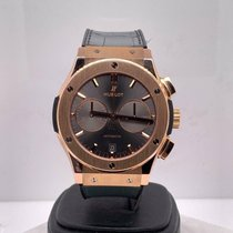Hublot Rose gold Automatic Grey 45mm pre-owned Classic Fusion Racing Grey