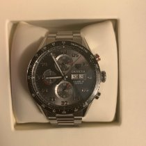 TAG Heuer Carrera Calibre 16 pre-owned 43mm Chronograph Date Steel