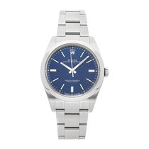 Rolex Oyster Perpetual 39 Steel 39mm Blue No numerals United States of America, Pennsylvania, Bala Cynwyd