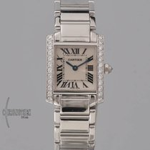 Cartier Tank Française White gold 20.5mm Silver