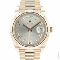 Rolex Day-Date 40 Růžové zlato 40mm Růžová Římské