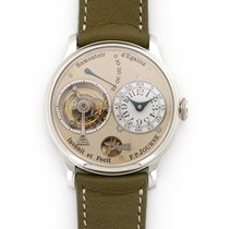 F.P.Journe pre-owned Manual winding 38mm Grey