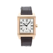 Jaeger-LeCoultre Reverso Squadra Hometime Rose gold 35mm Silver Arabic numerals United States of America, Pennsylvania, Bala Cynwyd