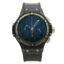 Hublot Big Bang Tutti Frutti Ceramic 41mm Green Arabic numerals