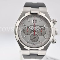 Vacheron Constantin Over seas chrono silver dial/red accents
