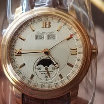 Blancpain Half-Hunter Leman 18K Rose Gold  Moonphase