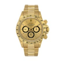 Rolex Daytona pre-owned 40mm Champagne Chronograph Yellow gold