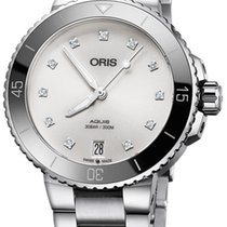 Oris Aquis Date Steel 36.5mm White United States of America, New York, Airmont