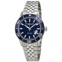 Raymond Weil Freelancer Blue Dial Stainless Steel Men's...