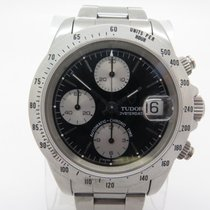Tudor Oysterdate Chrono Time 79280p Automatic Steel Black Dial...