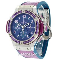 Hublot Big Bang Pop Art Stahl 41mm Violett