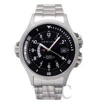 Hamilton Khaki Navy nieuw Automatisch Horloge met originele doos en originele papieren H77615133