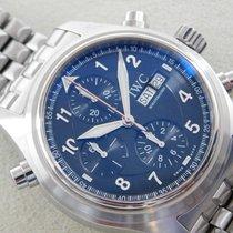 IWC Pilot Double Chronograph 3713 2006 usato