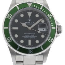 Rolex Submariner 16610V Watch with Stainless Steel Bracelet...