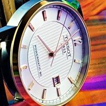 Tissot Titanium Automatic Titanium 41mm White No numerals