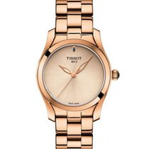 Tissot T-Wave Steel 30mm Champagne No numerals