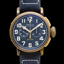 Zenith Pilot Type 20 Extra Special Bronze 45mm Blue United States of America, California, San Mateo