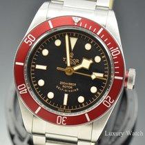 Tudor Heritage Black Bay Steel Automatic Black Index Pink 79220R