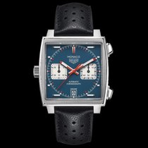 TAG Heuer Monaco Calibre 11 new 2018 Automatic Chronograph Watch with original box and original papers CAW211P.FC6356