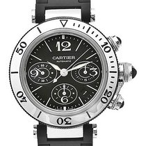Cartier Pasha Seatimer pre-owned 42.5mm Steel