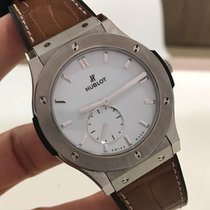 Hublot Classic Fusion Ultra-Thin 45 mm Completo Impecável