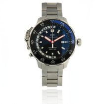 IWC Aquatimer Deep Two Сталь 46mm Чёрный Без цифр