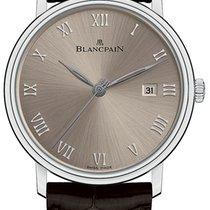 Blancpain Villeret Ultra-Slim Złoto białe 40mm Szary Rzymskie Polska, Warszawa
