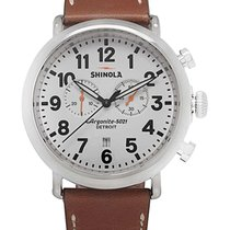 Shinola Chronograph 47mm Quartz new White