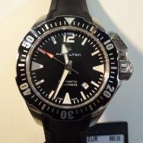 Hamilton Khaki Navy Frogman Steel 42mm Black
