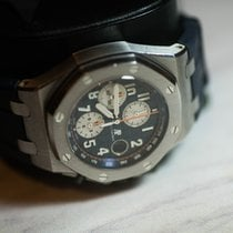 愛彼 Royal Oak Offshore Chronograph 鋼 42mm 銀色 阿拉伯數字 香港, Hong Kong