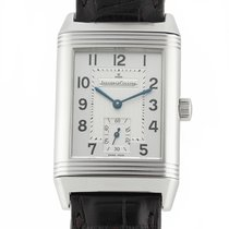 Jaeger-LeCoultre Reverso Grande Taille Acero 26mm Plata Árabes