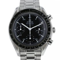 Omega Speedmaster Reduced Acier 39mm Noir Arabes France, Paris