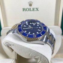 Rolex Submariner Date Acero y oro 40mm Azul Sin cifras España, Malaga