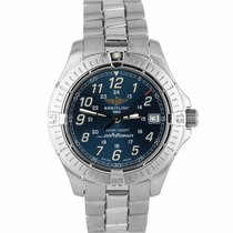Breitling Colt Quartz Steel 38mm Blue Arabic numerals United States of America, New York, Smithtown
