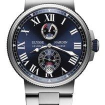 Ulysse Nardin Marine Chronometer Manufacture Сталь 45mm Синий