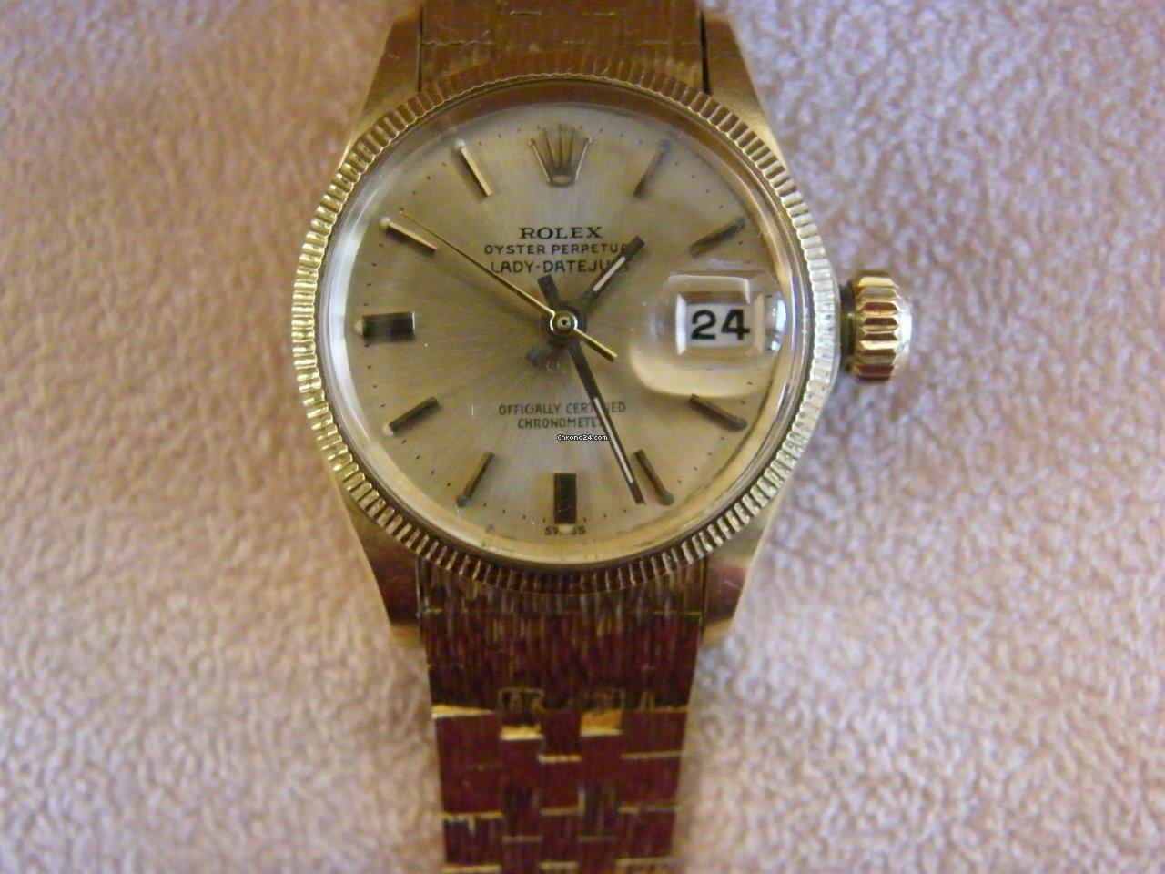 Rolex Lady-Datejust 6521 1968 usato
