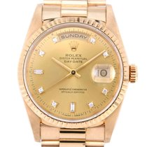Rolex Yellow gold Automatic Gold 44mm pre-owned Day-Date 36
