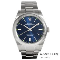 Rolex Oyster Perpetual 39 Staal 39mm Blauw Nederland, Purmerend