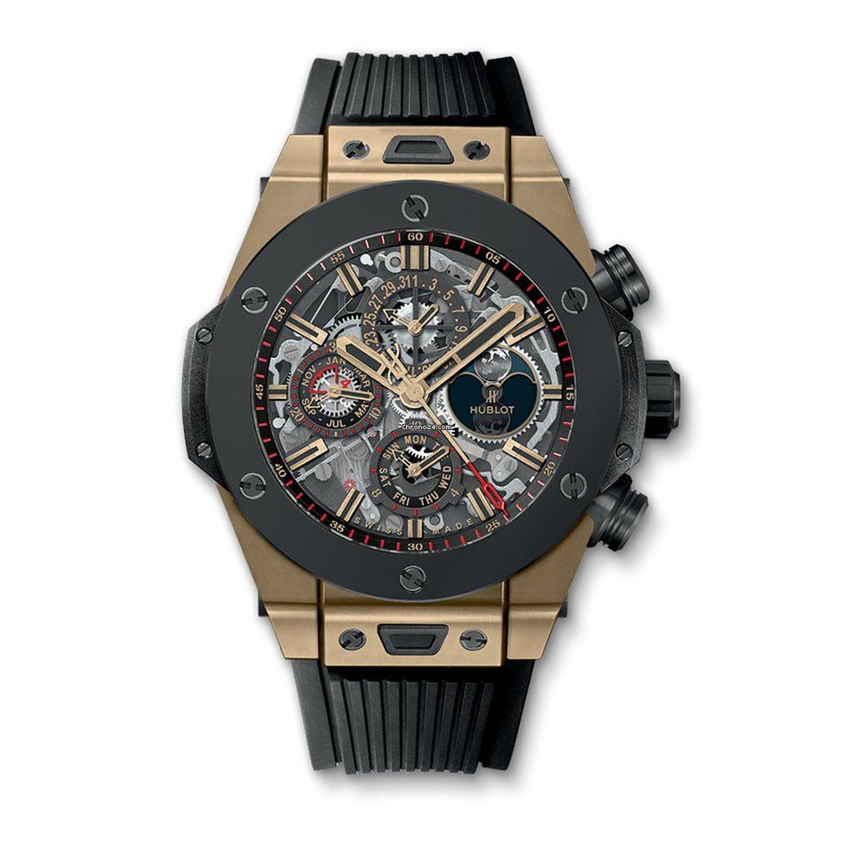 hublot big bang unico perpetual calendar magic gold ceramic 45 mm f r kaufen von einem. Black Bedroom Furniture Sets. Home Design Ideas