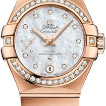 Omega Constellation Co-Axial Automatic Small Seconds 27mm...